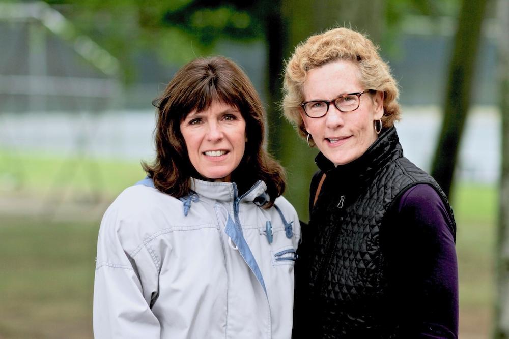 With longtime CP pal, Martha Dahlman